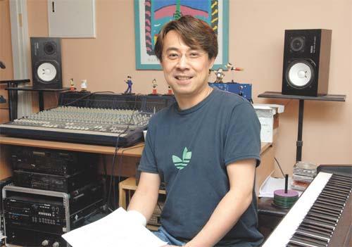 """자신의 작업실에서 곡을 만들던 유정연 씨는 """"유럽에서 작곡가 활동을 준비 중""""이라고 말했다. / 한준호 기자 gokorea21@chosun.com"""