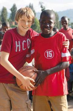 [어린이 모금가 '반디'를 만나다]  자유투로 아프리카에 희망 '슛'