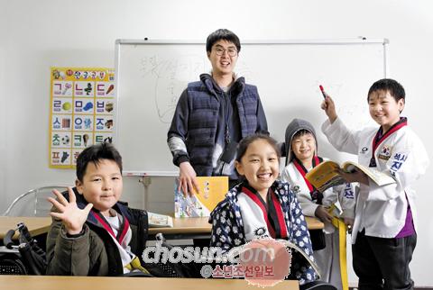 고려인 4세 어린이들은 서툰 한국어 실력을 키우기 위해 고려인동포문화복지지원센터에서 진행하는 한국어 수업에 매일 참여한다. /안산=임영근 기자