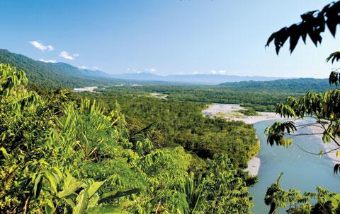 마누 국립공원 전경