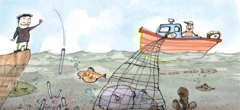 폐형광등·건전지 투기… 해산물 수은 오염 심각