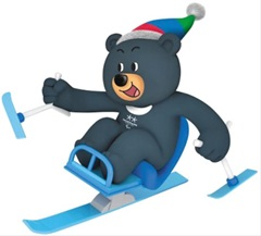 평창 동계패럴림픽의 마스코트인 반다비