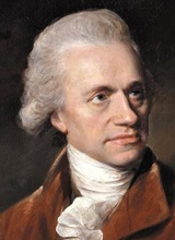 레뮤얼 프랜시스 애벗이 1785년 그린 윌리엄 허셜의 초상화.