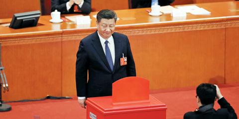 中, 국가주석 임기 제한 폐지… 99.79% 찬성