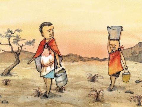 [세상을 바꾸는 즐거운 습관] 물 부족에 허덕이는 케냐 사람들