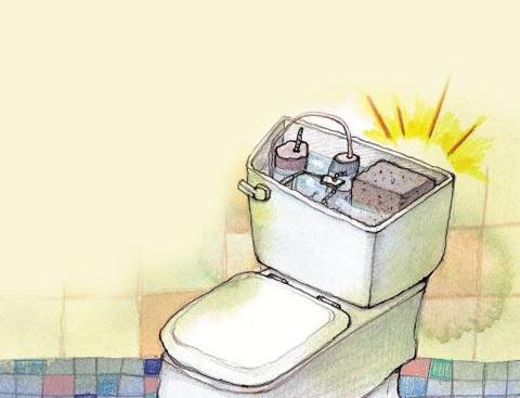 [세상을 바꾸는 즐거운 습관] ―화장실 변기에 설치된 대·소 버튼