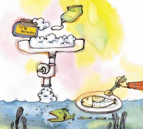 [세상을 바꾸는 즐거운 습관] ―바닷속 미세 플라스틱 오염