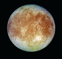 목성의 위성 '유로파'