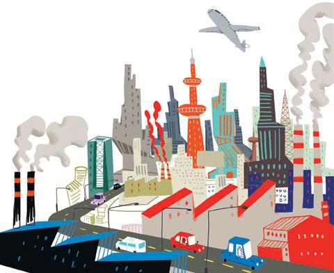 [추적! 이 쓰레기] 산업화 후 도시로 인구 몰려… 수질 오염 등 환경 문제 발생