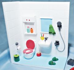 [조물조물 클레이아트] 12월의 주제 | 화장실