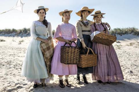 올해 말 개봉을 앞둔 영화 '작은 아씨들'의 한 장면. 1868년 세상에 나온 책 '작은 아씨들'을 원작으로 한다. 작은 아씨들은 미국 여성 문학의 선두주자로 불린다./IMDB 홈페이지 캡처