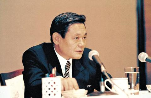 1993년, 51세의 이건희 회장.