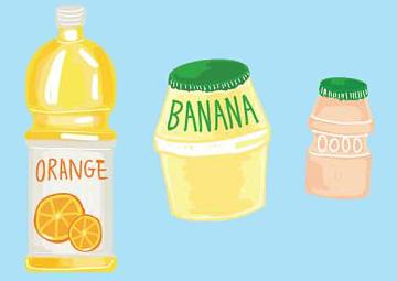 [건강 어린이 나야 나!] '과일 맛 음료'엔 당분 듬뿍, 비만·충치 위험 높여