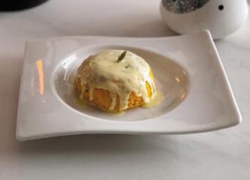 단호박 케이크