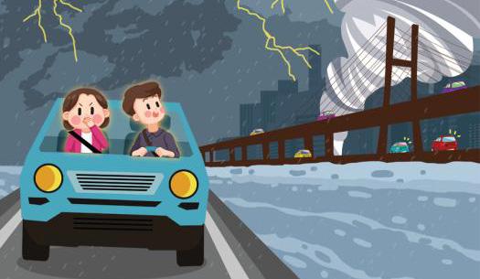 [안전은 내 친구] 태풍 발생 시 외출 자제… 하천 등 침수 지역 피해야